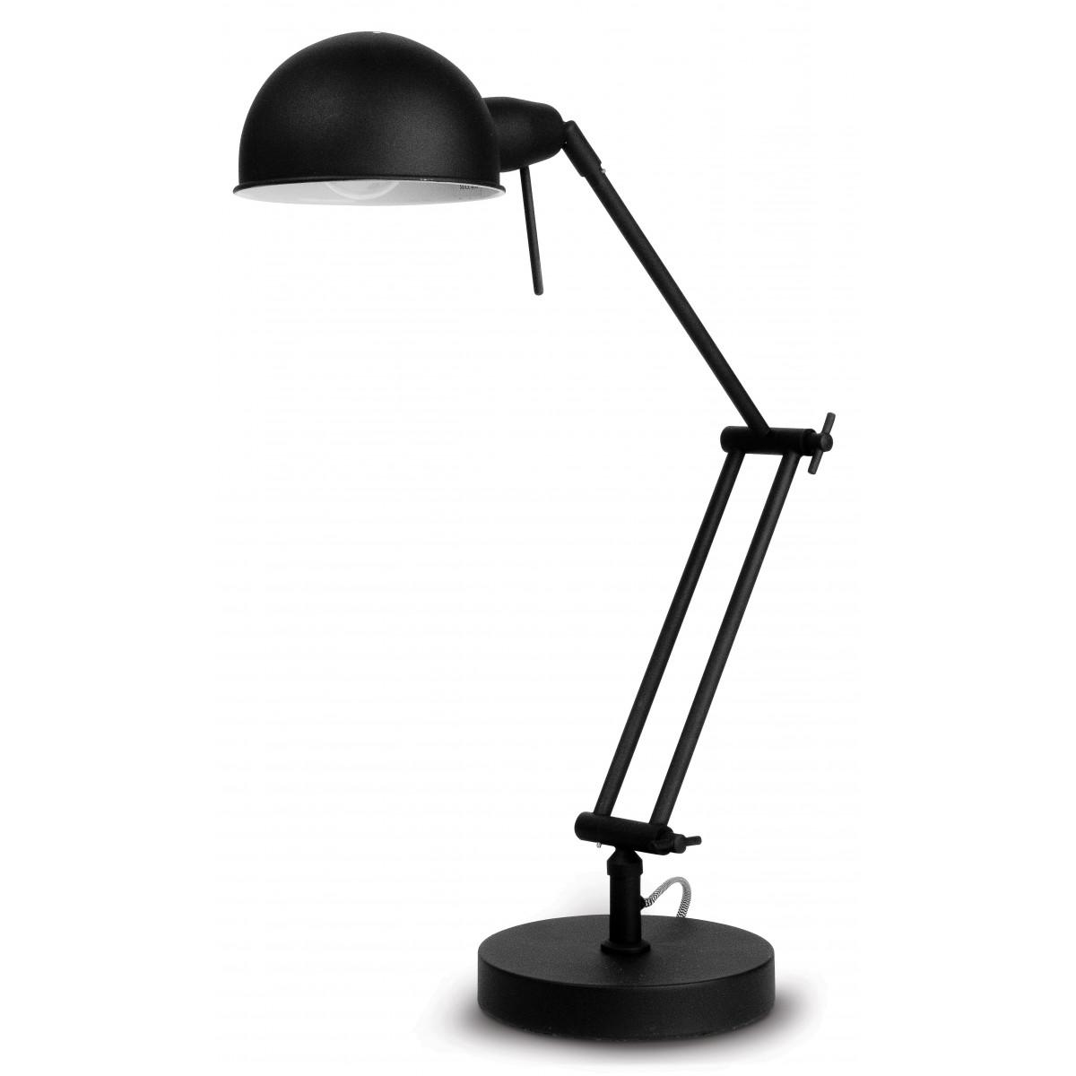 Lampe de table Glasgow Noir