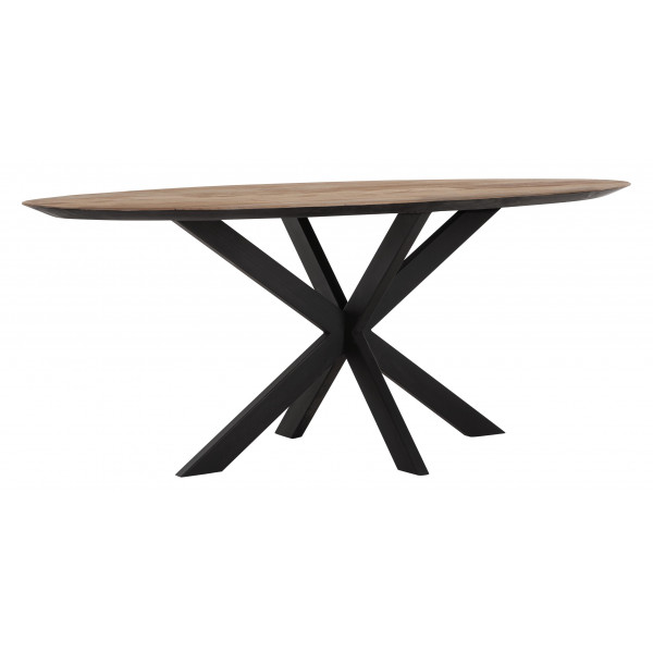 Oval Shape Dining Table Dtp Home Tentation