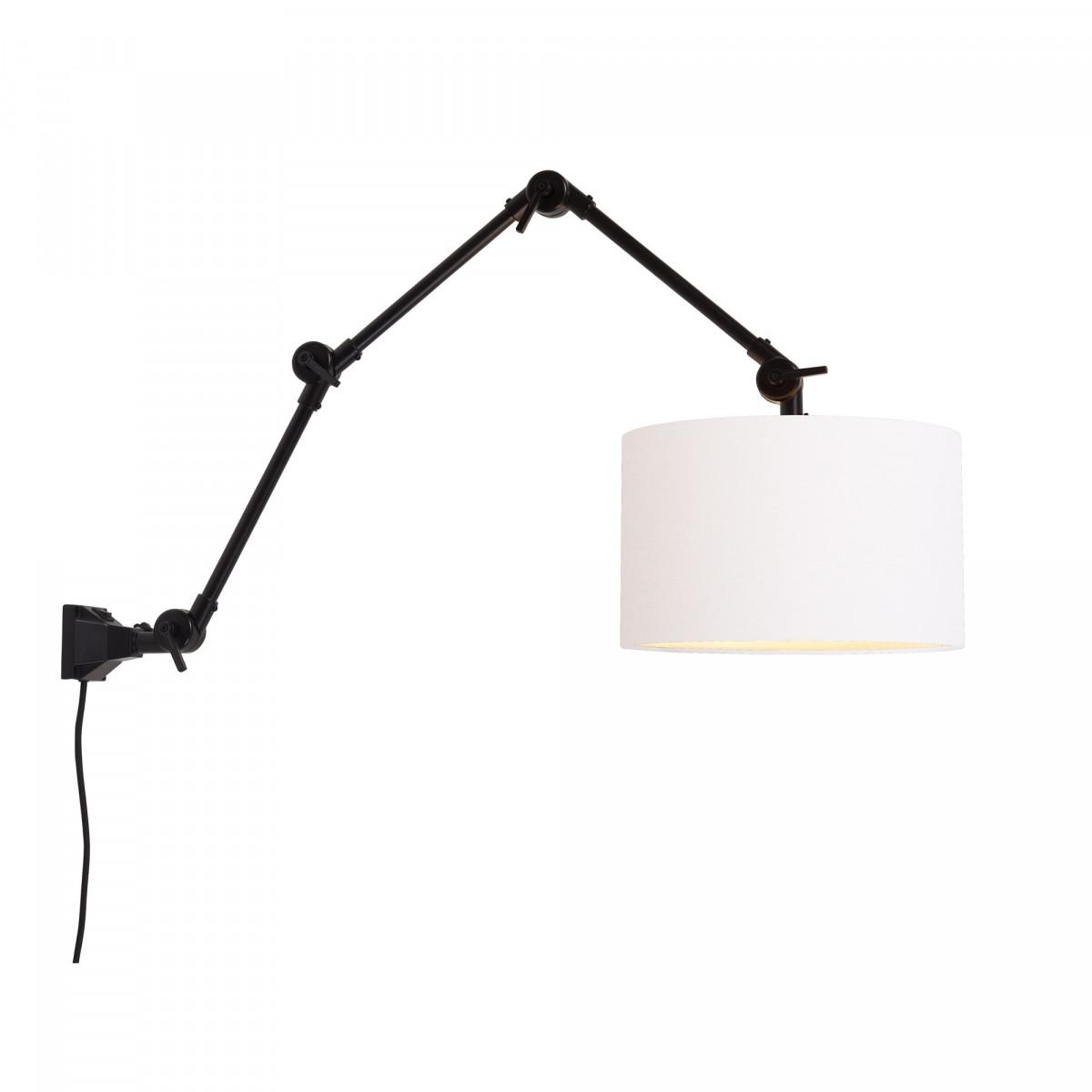 Applique suspension Amsterdam Blanc 7,5x105x30 cm