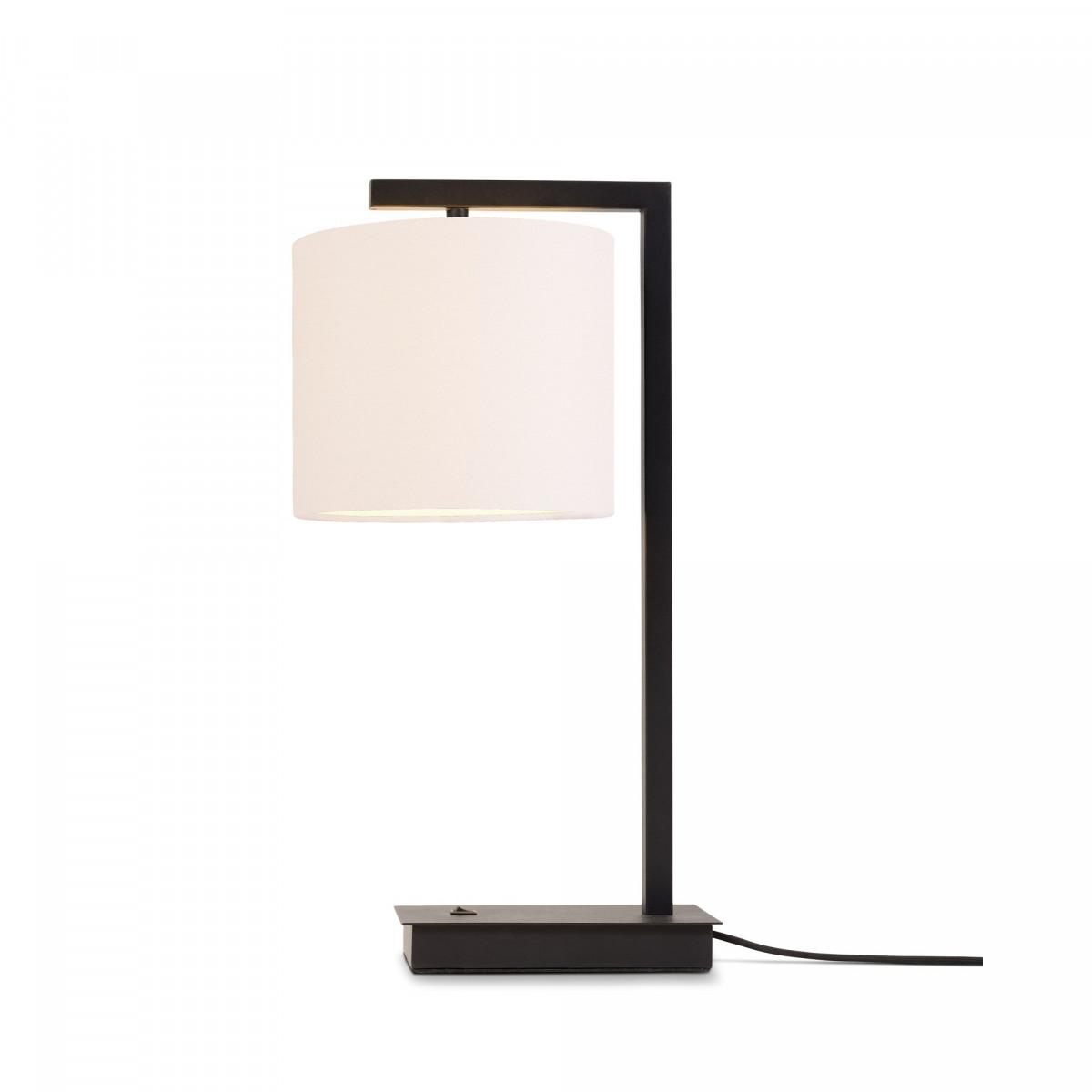 Lampe de table Boston Blanc