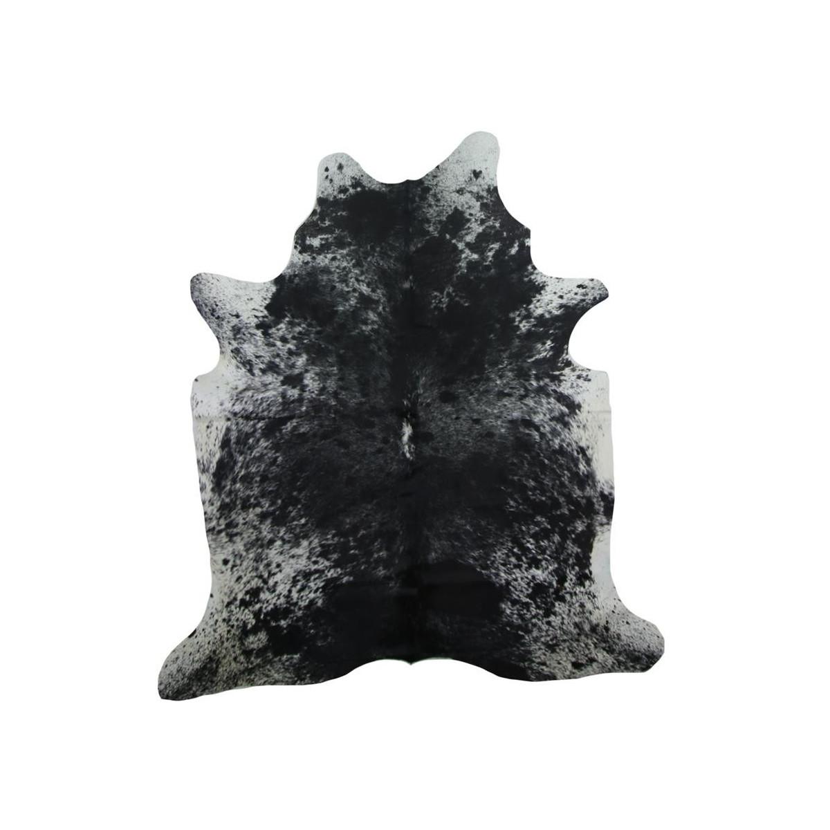 tapis cuir en peau de vache. Black Bedroom Furniture Sets. Home Design Ideas