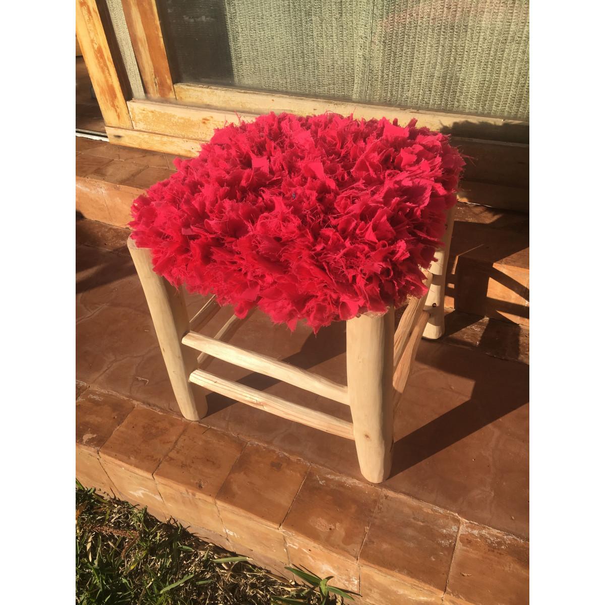 tabouret marocain frou frou rose. Black Bedroom Furniture Sets. Home Design Ideas