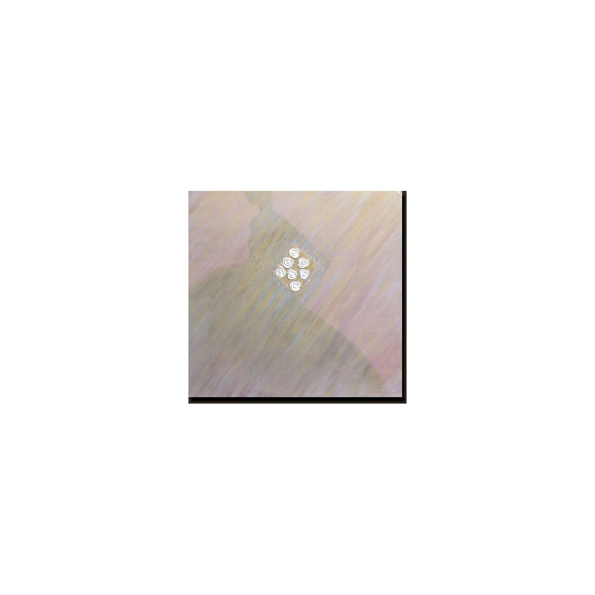 tableau abstrait 100x100 cm ref.0114
