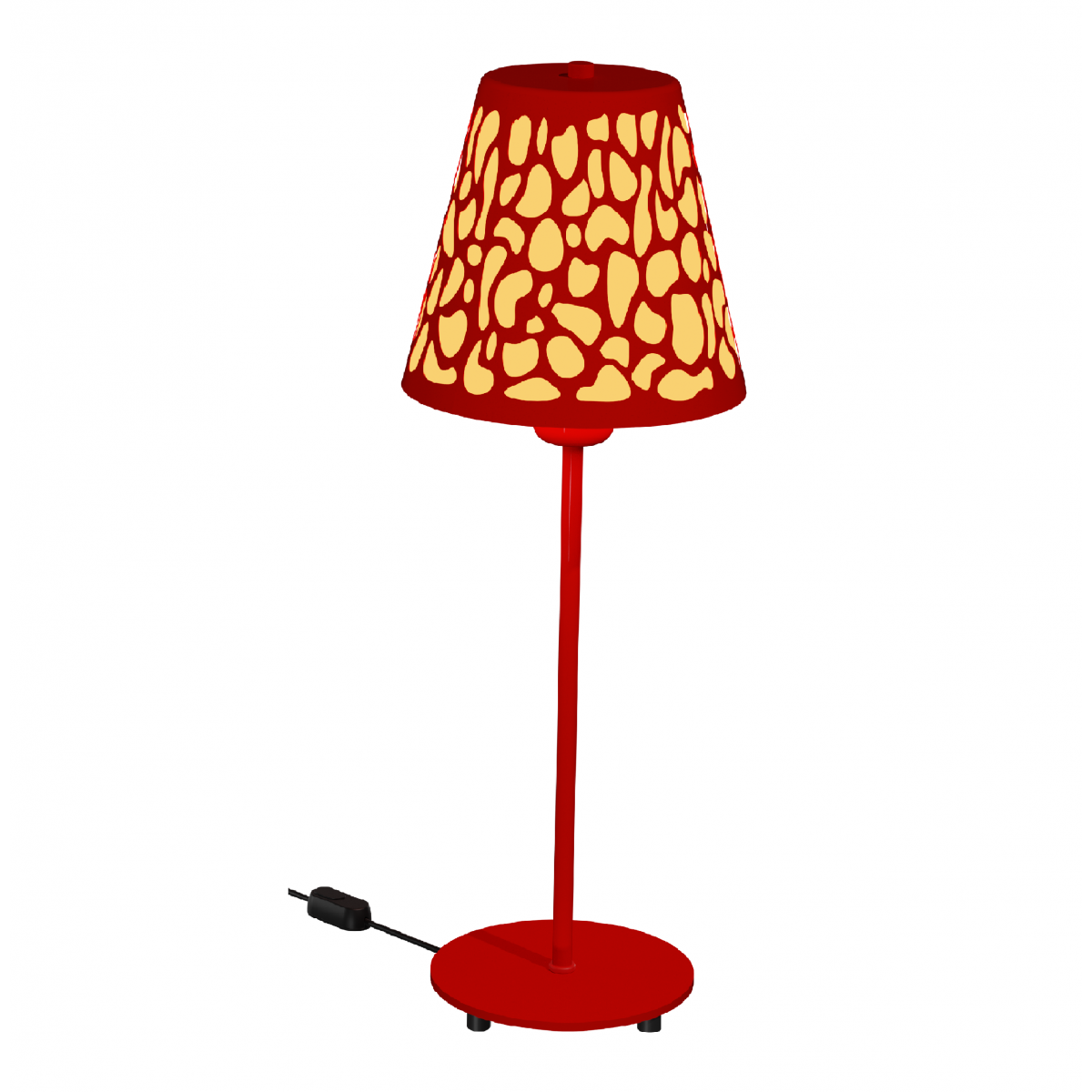 Lampe Nihoa LT Rouge