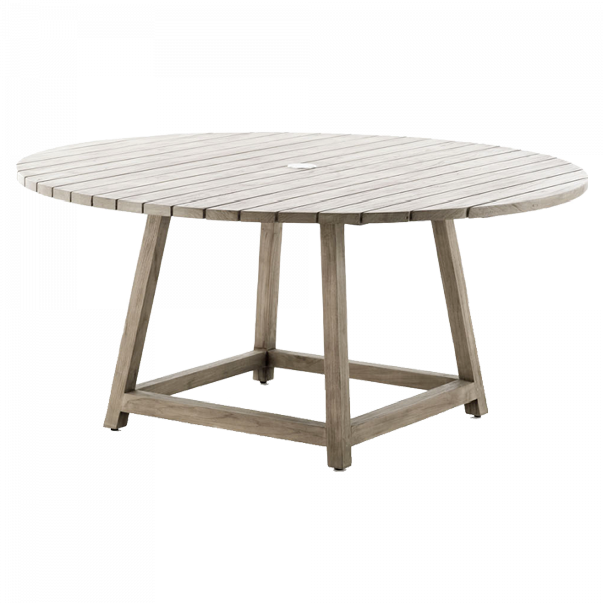Teak Wood Sika Desing Design, Round Wooden Garden Table And Chairs Ireland